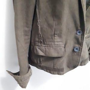 Anthropologie Jackets & Coats - ANTHROPOLOGIE SZ 4 HEI HEI DELAINE UTILITY JACKET